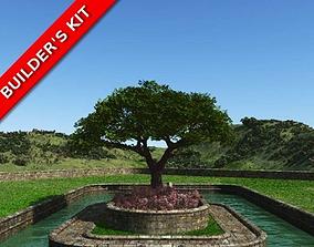 3D English Garden Masonry Curves Builders Kit