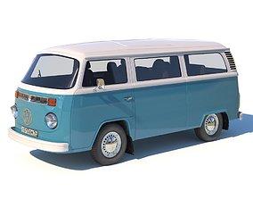Volkswagen T2 3D model