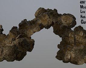 mountain 3D asset VR / AR ready Rocks