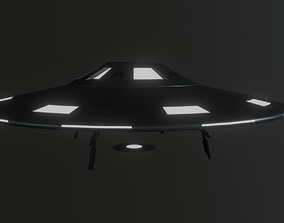 3D model Alien Flying Saucer