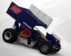 sprintcar Sprint Car 3D model