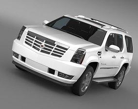 3D model Cadillac Escalade EuropeanVersion 2012