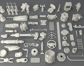 3D Kit bash - 58 pieces - collection-3