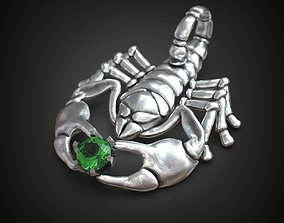 3D print model Scorpion pendant 3 in 1