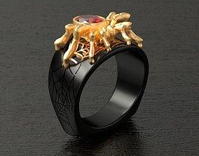 3D printable model TARANTULA Ring RG0007
