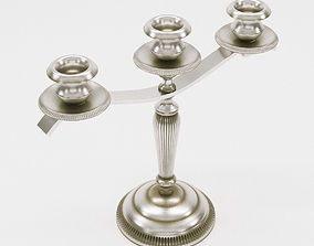 Candelabra - Art Deco 1920 - France 3D model