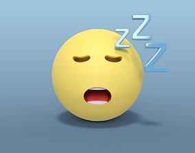Sleeping Smiley 3D