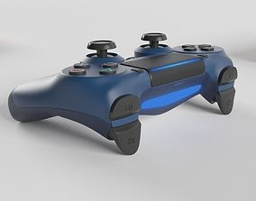 3D model Sony PlayStation 4 DualShock Controller 3
