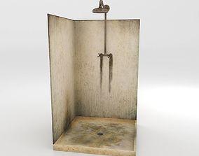 Dirty Shower 3D model
