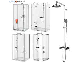 3D Ravak shower set 63