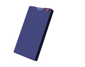 3D printable model MicroSD Card Wallet