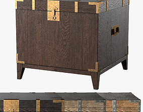 3D model CAYDEN CAMPAIGN TRUNK SIDE TABLE