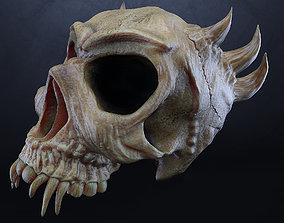 demon skull 3D halloween