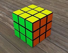 Cube Rubic 3D asset