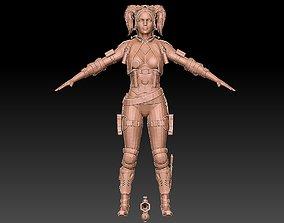printer HARLEY QUINN 3D