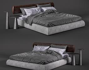 3D model Como baxter bed