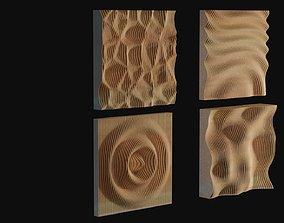 Parametric walls - set x 4 3D