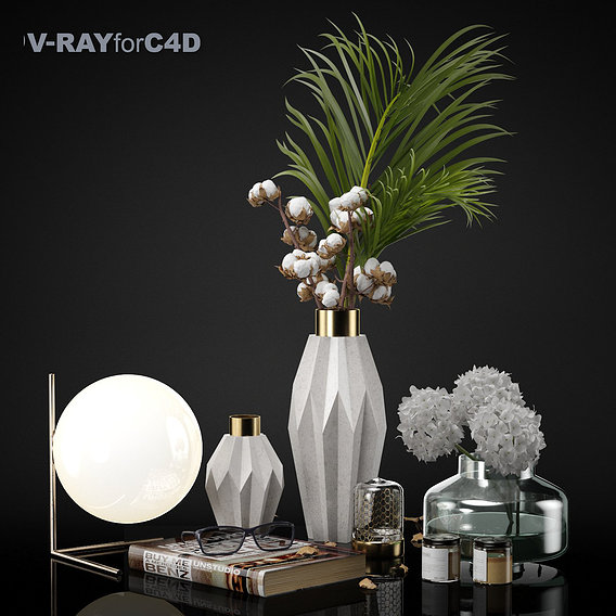 Decorative set 002 C4D