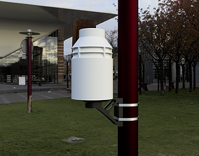 3D printable model Weather station housing for Arduino