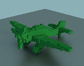 Lego Plane 3D model