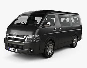 Toyota Hiace Passenger Van L1H2 GL RHD with HQ interior 3D