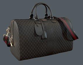 3D model Gucci Ophidia GG Black medium travel duffle bag