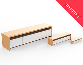 Living Room Rack with 3 Different Sizes 3D printable model
