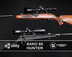 3D asset Sako 85 Hunter