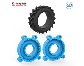 scale Tire Mold 3D Printing Model