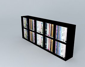 Black shelf 3D