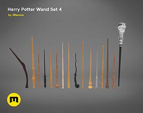 3D print model Harry Potter Wand Set 4