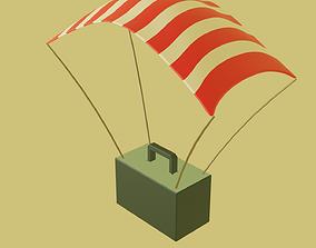 3D asset Parachute