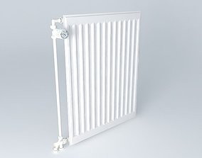 3D H720 L550 steel radiator one blade
