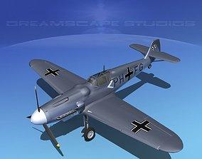 3D model Messerschmitt BF-109 V16