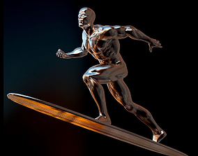 Silver Surfer Real-Time 3D model