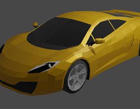 McLaren MP4-12C 3D asset