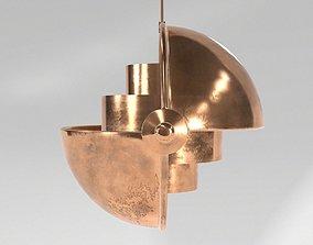 3D model Metal Loft Lamp