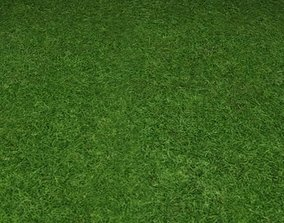 3D ground grass tile 24