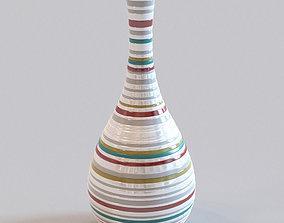 3D model Vase striped