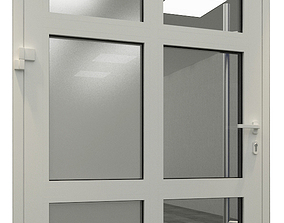 Aluminum Joinery Doors 3D model