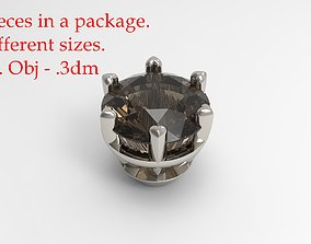 Jewelry Prong Head Set Package 058 3D print model