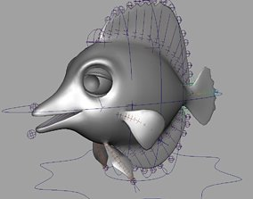 Rig Listo 3D model