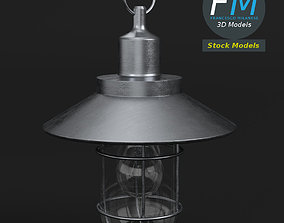 Hanging bulkhead lamp 3D model