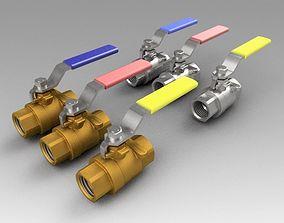 3D Ball valve collection