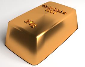 Goldbar 20gram 3D