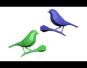 Geometric Bird 3D print model