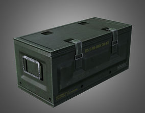 3D asset Military Supply Crate - PBR Game Ready