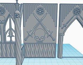 3D printable model Templo Espadas