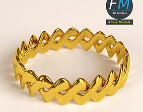 Braided ring 3D model