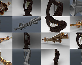 3D model band Musical Instruments